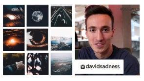 @davidsadness, sus fotografías te enamoran al instante