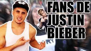 Voy al concierto de Justin Bieber con sus fans
