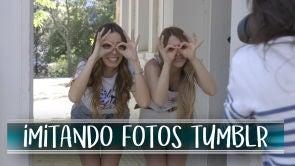 Imitando fotos de Tumblr