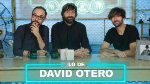 David Otero y lo de los dibujos animados