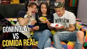 Comida de Gominola vs Comida Real