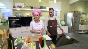 Programa 37: Codorniz en escabeche con verduras asadas y pastelitos de crema de avellana