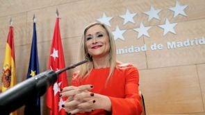 """(17-04-18) Cristina Cifuentes: """"No me planteo dimitir, no hay razones objetivas para ello"""""""