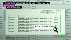El instituto de Álvarez Conde en la URJC pagó 8.800 euros a su hija por una supuesta colaboración