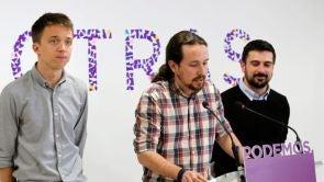 """Iglesias: """"Confío en Íñigo Errejón"""", y lo respalda como candidato"""