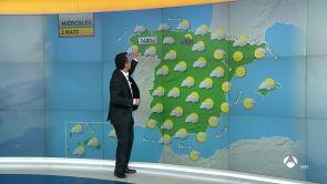 (01-05-18) Mayo arranca con precipitaciones, frío e inestabilidad