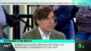 """(02-05-18) Pablo Montesinos: """"Sáenz de Santamaría y De Cospedal han escenificado que no se hablan"""""""