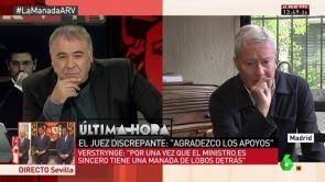 """(03-05-18) - Verstrynge, sobre el caso de 'La Manada': """"Para una vez que Catalá es sincero tiene una manada de lobos detrás"""""""
