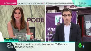 """(09-05-18) Íñigo Errejón: """"Me preocupa más que Cifuentes nos haya dejado a su número dos que su vida privada"""""""