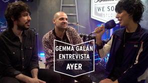 Gemma Galán entrevista a 'Ayer' en su ensayo para la sala 'El Sol' | We Sound