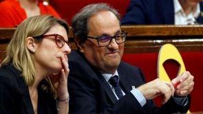 (12-05-18) Fracasa la investidura de Quim Torra con 66 votos a favor, 65 en contra y 4 abstenciones