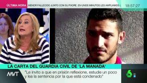 (14-05-18) La respuesta de Elisa Beni al guardia civil de 'la Manada' después de que éste la mencionara en su carta