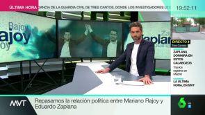 (23-05-18) Mariano Rajoy y Eduardo Zaplana, carreras políticas de la mano durante casi 30 años