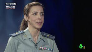 """(14-06-18) Silvia Gil, comandante de la Guardia Civil: """"No quiero que por un error mío digan que nosotras no servimos"""""""