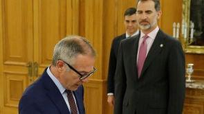 (14-06-18) José Guirao promete su cargo ante el Rey como nuevo ministro de Cultura y Deportes