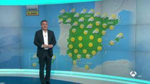 (14-06-18) Viernes de temperaturas en ascenso y cielos despejados salvo en Galicia y el Cantábrico