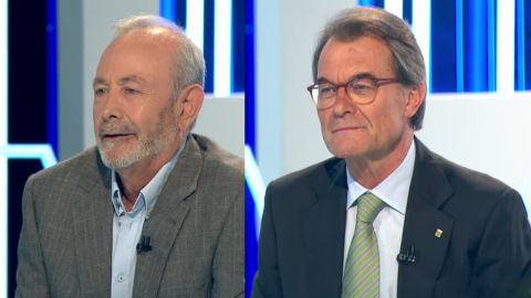 (17-06-18) El juez José Castro y el expresident Artur Mas