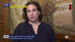 """(19-06-18) Ada Colau, sobre los inmigrantes: """"El Estado debería habilitar permisos de trabajo"""""""