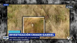 (20-06-18) En exclusiva la imagen de la camiseta del pequeño Gabriel que encontró Ana Julia Quezada