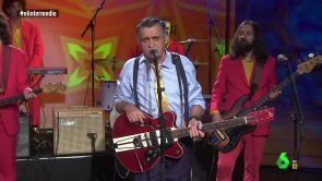 (28-06-18) Al ritmo del 'Que viva España' más rockero, así es el himno español de Wyoming