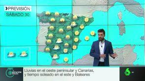 (29-06-18) Lluvias en el oeste peninsular y Canarias y tiempo soleado en el este y Baleares