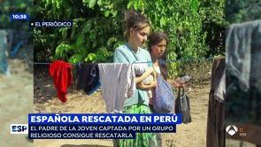 (05-07-18) Rescatan a la joven de Elche captada por una secta sexual en Perú con su bebé recién nacido y detienen al líder del grupo