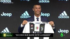 """(16-07-18) Las razones de Cristiano para fichar por la Juventus: """"No creo que nadie esté llorando"""""""