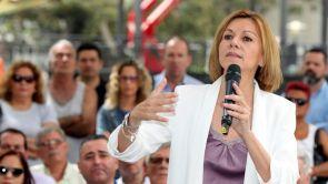 """(16-07-18) María Dolores de Cospedal apoya a Pablo Casado como """"una magnífica opción"""" para liderar el PP"""