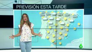 (16-07-18)  Lluvia en Galicia, Cantábrico y Cataluña y despejado en el resto