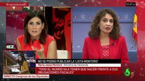"""(17-07-18) María Jesús Montero: """"No habrá subida de impuestos ni a ciudadanos, ni a pymes ni a autónomos"""""""