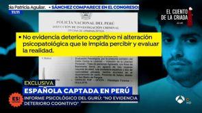"""(17-07-18) EXCLUSIVA: El informe psicológico del gurú que capto a Patricia Aguilar en una secta: """"Está completamente cuerdo"""""""