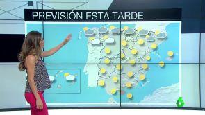 (17-07-18) Calimas en el sureste peninsular y fuertes tormentas en el norte