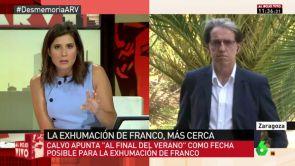 """(18-07-18) Julián Casanova, catedrático: """"No ha habido un atrevimiento de ningún Gobierno para rescatar de las cunetas a las víctimas"""""""