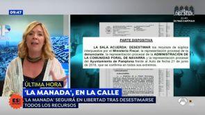 (18-07-18) Espejo Público accede al auto que deja en libertad a 'La Manada' tras el incidente del pasaporte