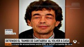 (19-07-18) Detenido el 'Rambo de Cantabria', el hombre armado que huyó tras atrincherarse en su casa en Turieno