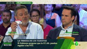 (04-08-18) Conflicto entre taxistas y VTC