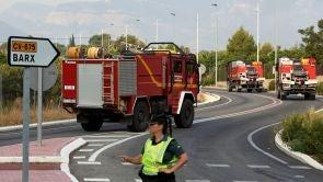 (08-08-18) El incendio de Valencia avanza sin control tras quemar más de 3.000 hectáreas y calcinar una veintena de viviendas