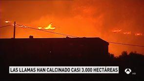 (08-08-18) El incendio de Valencia afecta ya a seis municipios