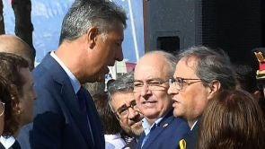 (18-08-18) La tensión política en Cataluña, presente en los homenajes de los atentados pese a la petición de las víctimas