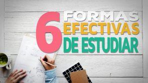 6 Formas efectivas de estudiar antes de un examen 📕