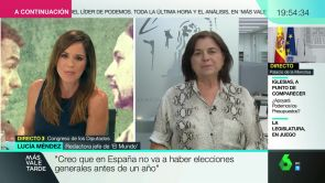 "(06-09-18) Lucía Méndez: ""Podemos necesita presentarse como socio preferente del PSOE"""