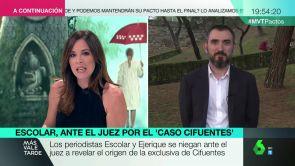 """(07-09-18) Ignacio Escolar: """"Ha sido terrible ser interrogados por publicar una información"""""""
