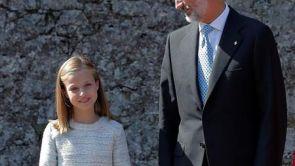 (08-09-18) Leonor se estrena en la carrera como heredera de la corona en la basílica de Covadonga