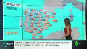 Estación laSexta (10-09-18) Avisos por fuertes lluvias