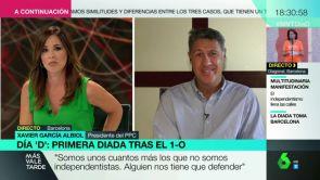 """(11-09-18) Xavier García Albiol: """"Quien da oxígeno al independentismo es la Guardia Urbana de Colau"""""""
