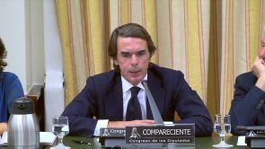 """(18-09-18) Aznar, sobre los casos de corrupción del PP: """"No tengo que pedir perdón por nada"""""""