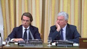 """(18-09-18) Aznar, en la comisión de la caja B del PP: """"No tengo que pedir perdón por nada"""""""