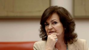 """(23-09-18) Carmen Calvo, sobre un posible retraso del juicio del procés: """"No sería lógico alargar la prisión preventiva"""""""