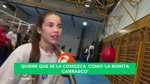 """(25-09-18) Laura 'la Bonita Carrasco': """"Entreno con los chicos, soy como una más"""""""