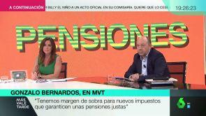 """(05-10-18) Gonzalo Bernardos: """"Es cuestión de dignidad que los jubilados mantengan su nivel adquisitivo"""""""